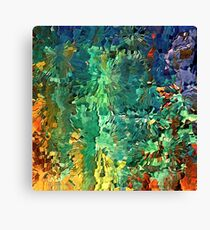 Contemporary landscape by rafi talby   Canvas Print