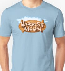 Harvest Moon (SNES Title Screen) Unisex T-Shirt