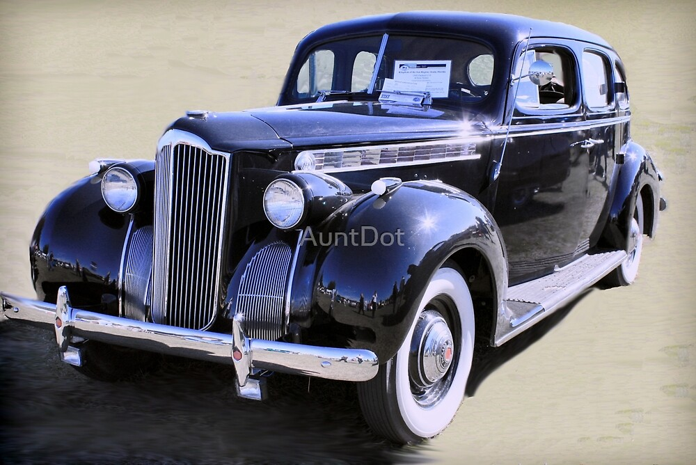 1940 Packard by AuntDot