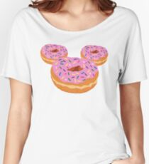 Mouse Donut Women's Relaxed Fit T-Shirt
