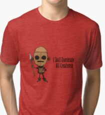 Don't Starve WX78 Dominate  Tri-blend T-Shirt