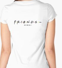 FRIENDS- COZY TAPES VOL. 1 A$AP Women's Fitted Scoop T-Shirt