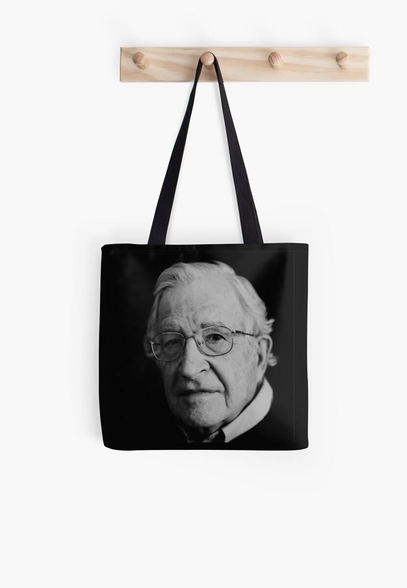 Noam Chomsky by ArtsyBeard