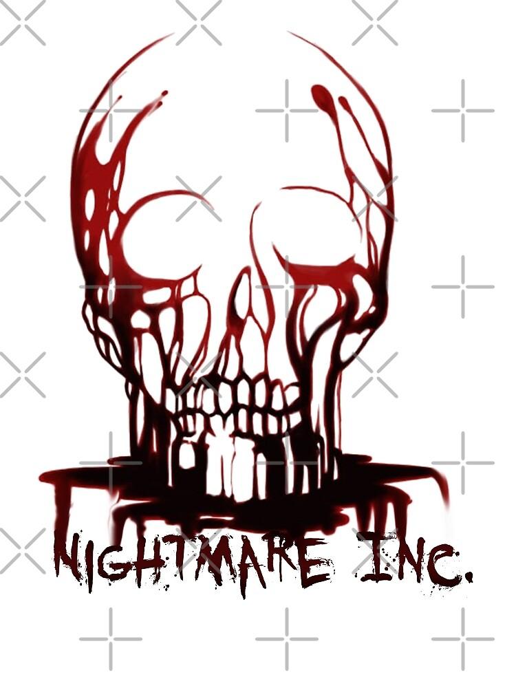 Bloody skull - Nightmare Inc. by American  Artist