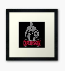 Captains Gym Framed Print