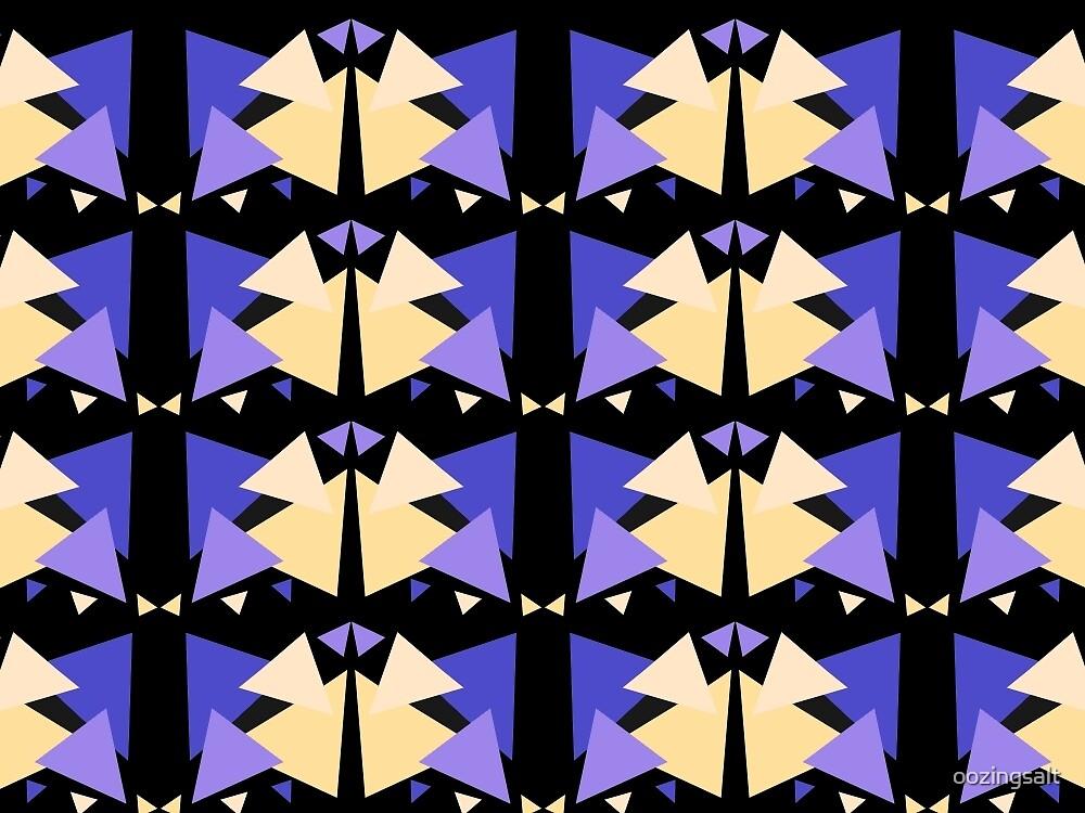 Geometric Pattern Triangles 3 by oozingsalt