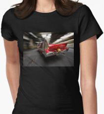 """Christine"", the Plymouth Fury from the movie of John Carpenter Women's Fitted T-Shirt"