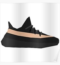 Geometric Yeezy 350 v2 Copper Poster