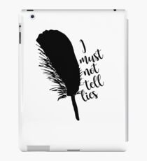 The Black Quill iPad Case/Skin