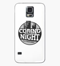 Coding At The Night Case/Skin for Samsung Galaxy