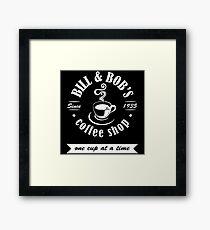Coffee Shop Framed Print