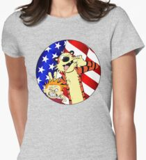 Calvin and hobbes america T-Shirt