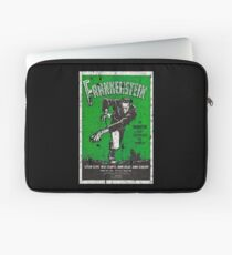 Frankenstein Boris Karloff Movie Vintage Poster Laptop Sleeve
