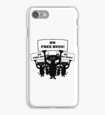 Cats Protest iPhone Case/Skin