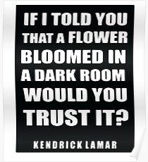 Kendrick Lamar Lyrics Poster