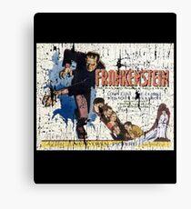 Frankenstein Boris Karloff Movie Vintage Poster Canvas Print