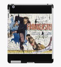 Frankenstein Boris Karloff Movie Vintage Poster iPad Case/Skin