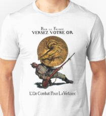 WWI Gold for French Victory T-Shirt