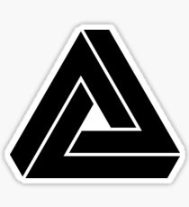 Penrose triangle Sticker
