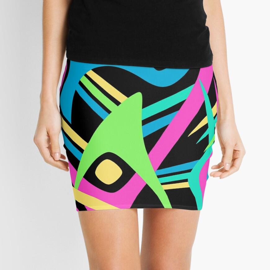 Puff Mini Skirt