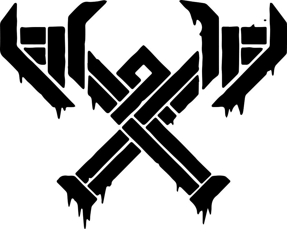 League Of Legends Freljord Axes by devilnunexx