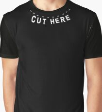 cut here Graphic T-Shirt