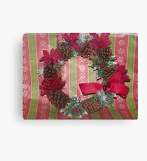 christmas wearth Canvas Print
