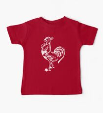 Rooster Baby Tee