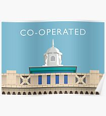 STOCKPORT - Former Co-operative building Poster