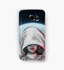 She is one with the Force... Samsung Galaxy Case/Skin