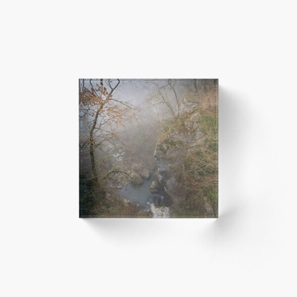 Fog on Barbennaz Acrylic Block