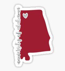 University of Alabama - Style 16 Sticker