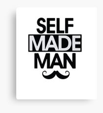Kendrick Lamar - Self Made Man Canvas Print