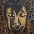 Golden Buddha by EvaBridget