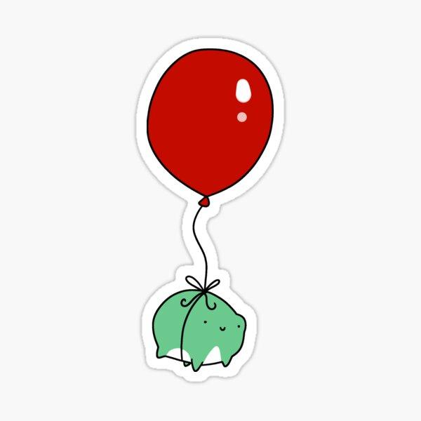 Balloon Frog Sticker
