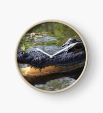 Mama Alligator Clock