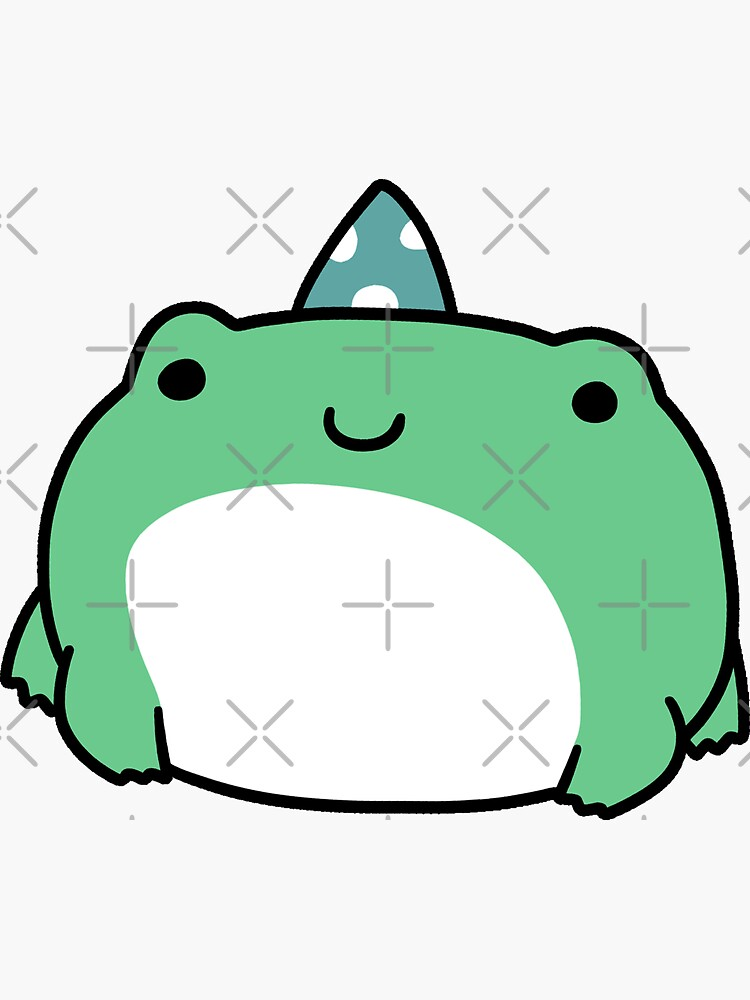 Party Hat Frog by SaradaBoru