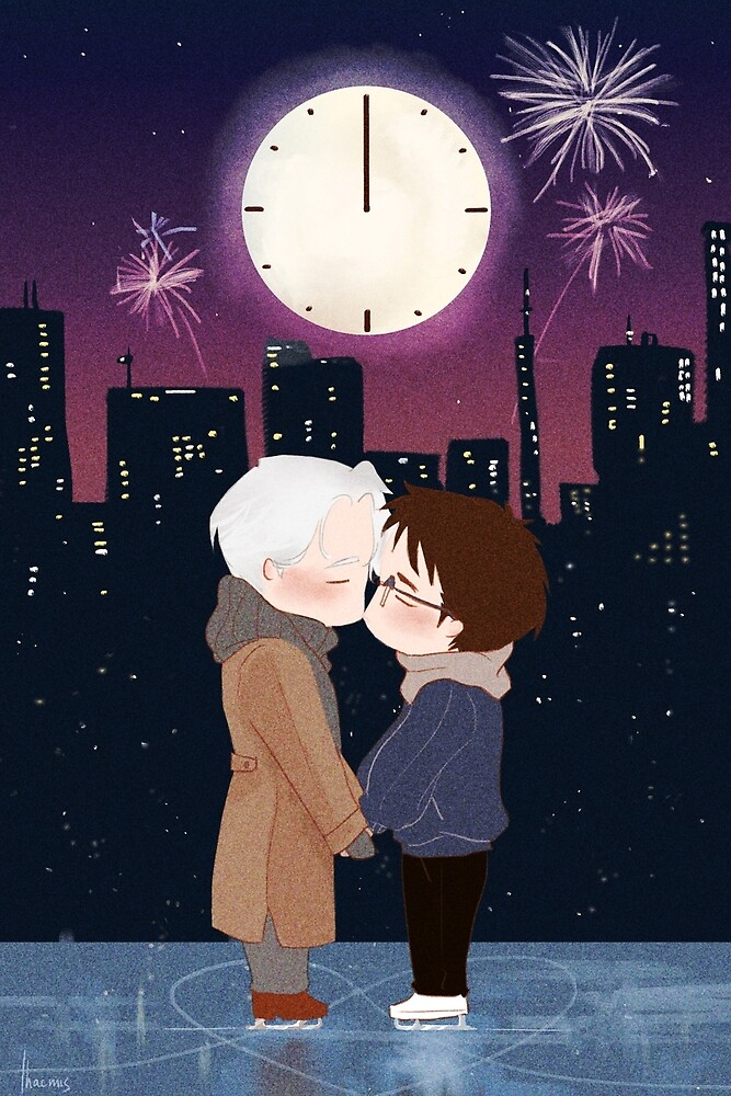 Happy New Year Victuuri by thacmis