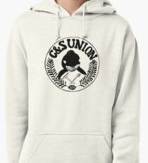 C&S Union: Union of Killer Whale Tank Clean and Scrub Men Pullover Hoodie