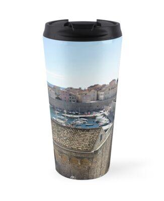 Croatia - Dubrovnik - marina walls by renprovo