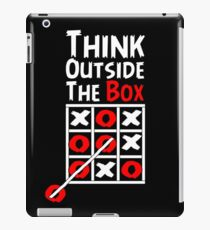 Think Outside the Box - X O games Fun by Aariv iPad Case/Skin