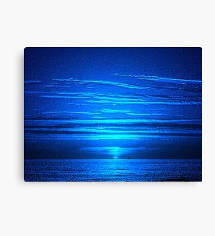 Sunset Blues Canvas Print