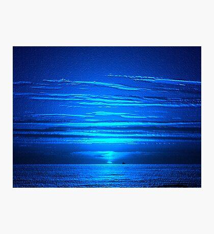 Sunset Blues Photographic Print