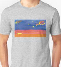 Dreamweaver flying in the night sky T-Shirt
