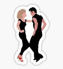 Grease Dancing Danny and Sandy Sticker