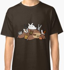 Bunnies and Sloth Classic T-Shirt