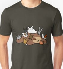 Bunnies and Sloth T-Shirt