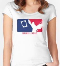 Major League Women's Fitted Scoop T-Shirt