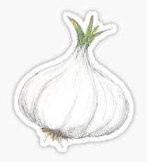 Head of Garlic Sticker