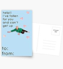 Life Alert Valentine Card Postcards